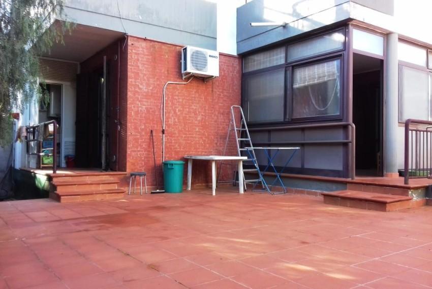 patio posteriore
