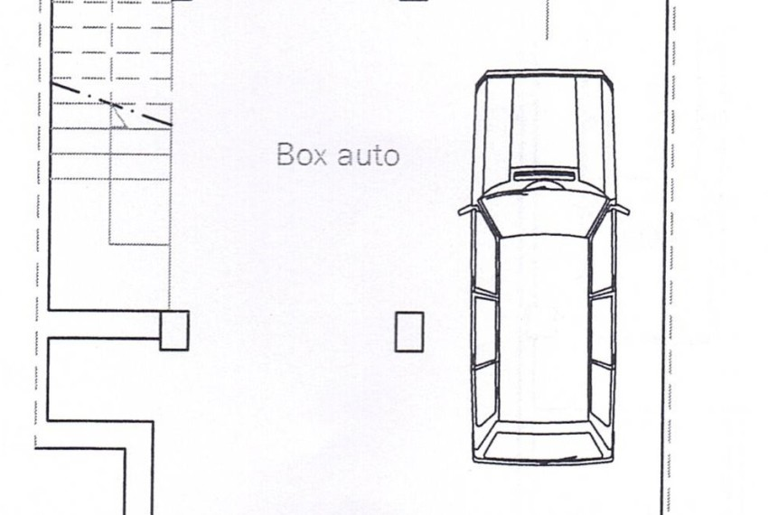 planimetria BOX AUTO - APPARTAMENTO A